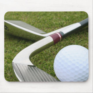 Golfing Mouse Pad