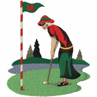 Golfing Mrs Claus