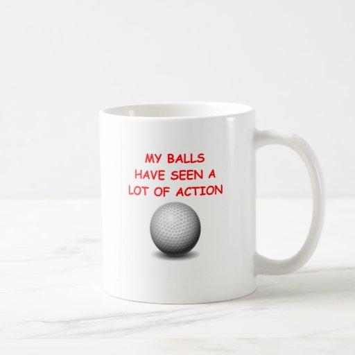 golfing mugs