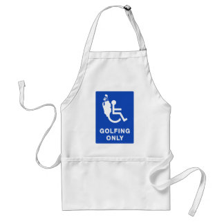 Golfing Only Aprons
