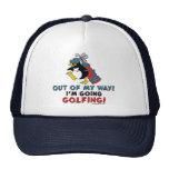 Golfing Penguin Cap