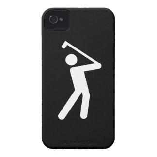 Golfing Pictogram iPhone 4 Case