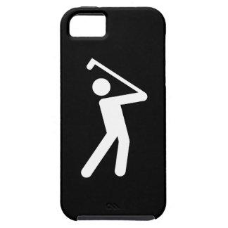 Golfing Pictogram iPhone 5 Case