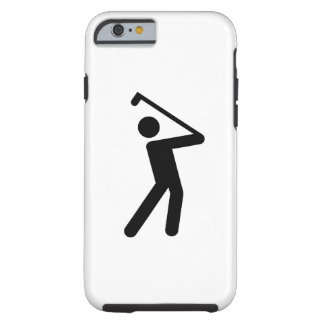Golfing Pictogram iPhone 6 Case