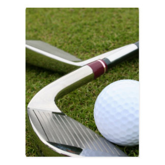 Golfing Postcard