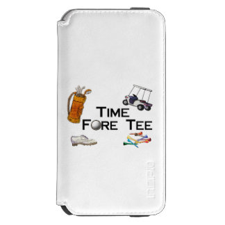Golfing Time Fore Tee Incipio Watson™ iPhone 6 Wallet Case