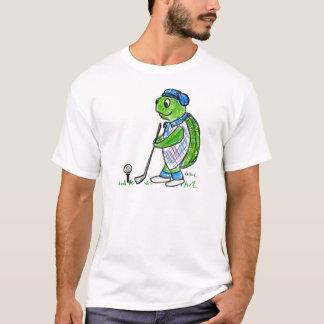 Golfing Turtle T-Shirt