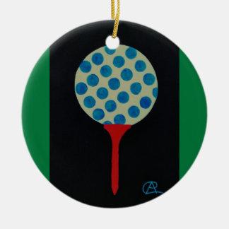Golf's HOT Round of the Year Keepsake Round Ceramic Decoration