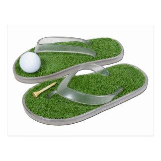 GolfShoesBallTee062011 Postcard