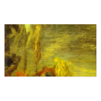 Golgotha (copy after Veronese) by Henri Latour Pack Of Standard Business Cards