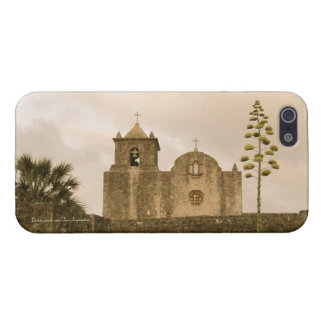 Goliad Texas Church-Vintage sepia Cover For iPhone 5/5S