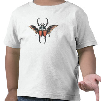 goliath beetle kids shirt