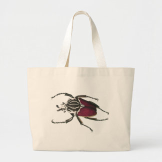 Goliath Beetle Large Tote Bag