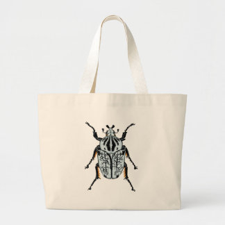 Goliath Beetle (single) Large Tote Bag