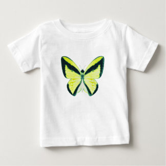 Goliath Birdwing Butterfly with Name Baby T-Shirt