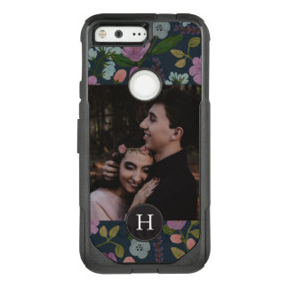 Golightly Floral + Monogram OtterBox Commuter Google Pixel Case