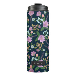 Golightly Floral Thermal Tumbler