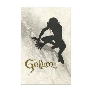Gollum Concept Sketch Canvas Print