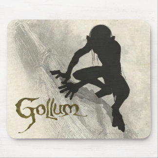 Gollum Concept Sketch Mouse Mat