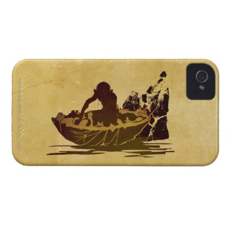 Gollum in a Raft Case-Mate iPhone 4 Cases