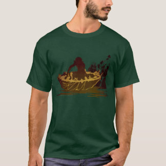 Gollum in a Raft T-Shirt