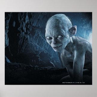 Gollum in Cave Poster