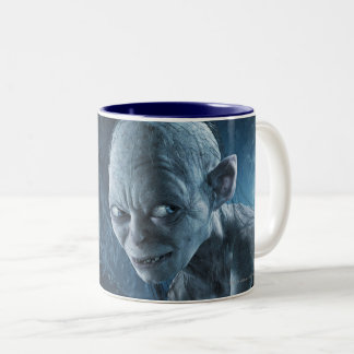 Gollum in Cave Two-Tone Coffee Mug