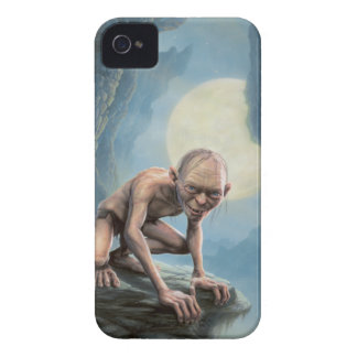 Gollum with Moon iPhone 4 Case-Mate Cases