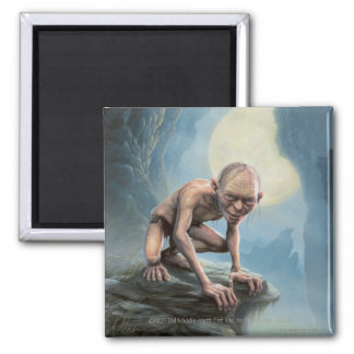 Gollum with Moon Square Magnet