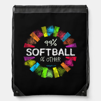 Golly Girls: 99 Percent Softball 1 Percent Other Backpack