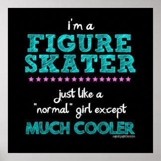 Golly Girls - I'm A Figure Skater Poster