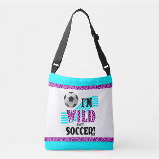 Golly Girls: I'm WILD about SOCCER Crossbody Bag
