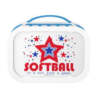 Golly Girls Patriotic USA Stars Softball Lunch Box