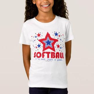 Golly Girls Patriotic USA Stars Softball T-Shirt
