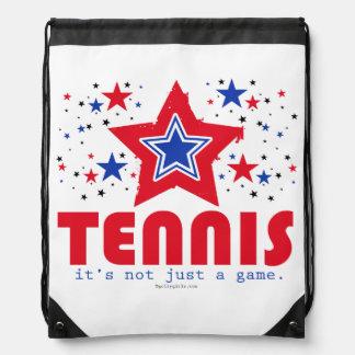 Golly Girls Patriotic USA Stars Tennis Drawstring Bags