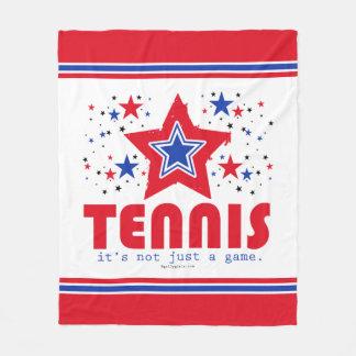 Golly Girls Patriotic USA Stars Tennis Fleece Blanket