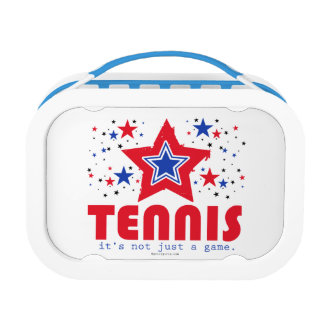 Golly Girls Patriotic USA Stars Tennis Lunch Boxes