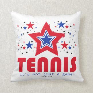 Golly Girls Patriotic USA Stars Tennis Throw Pillow