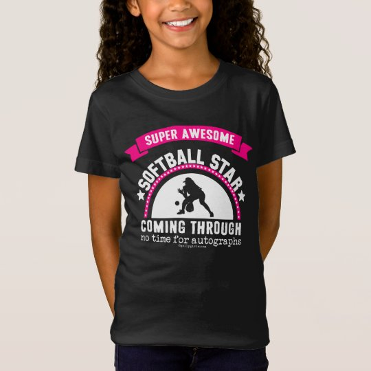 Golly Girls: Super Awesome Softball Star T-Shirt