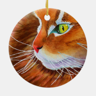 Gomer's Crazy Whiskers Christmas Ornament
