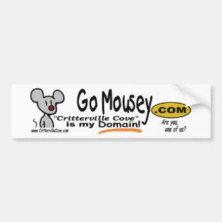 GoMousey dotCOM bumper sticker