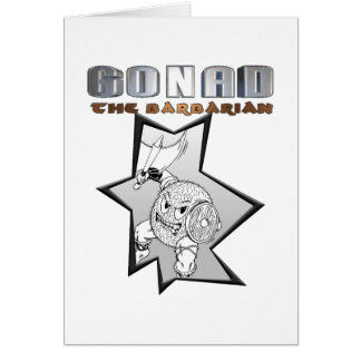 Gonad The Barbarian Cards