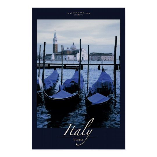 Gondoals of Venice Poster