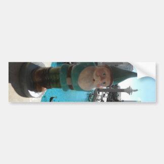 Gondola Gnome I Car Bumper Sticker