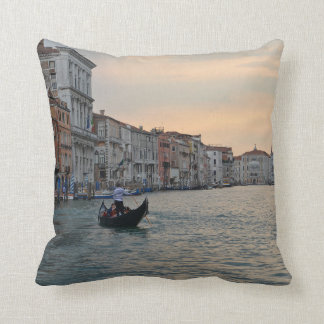 Gondola Grand Canal Venice Pillow