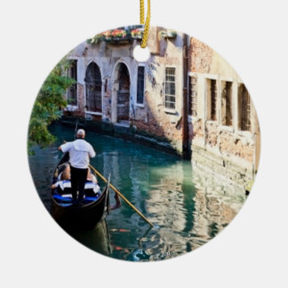 Gondola in Venice Italy Christmas Ornament