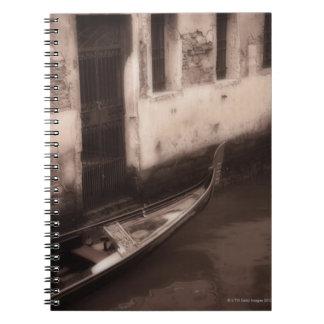 Gondola in Venice Italy Spiral Notebook