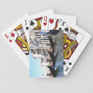 Gondola Parking Playing Cards