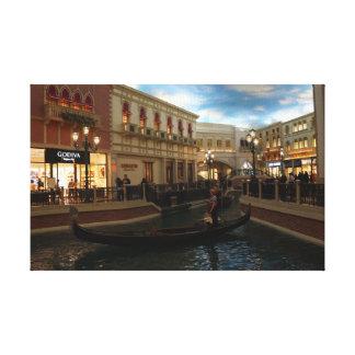 Gondola Ride at The Venetian Canvas