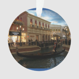 Gondola Ride at The Venetian Ornament